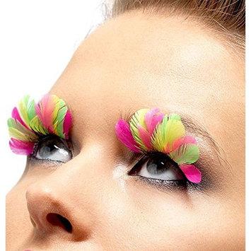 Fever Women's Eyelashes Neon Feather