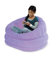Intex Plush Inflatable Cafe Chair (Lilac)