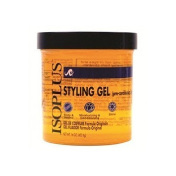 Isoplus Gel, Styling, Pre‑conditioning Light, 16 Ounce