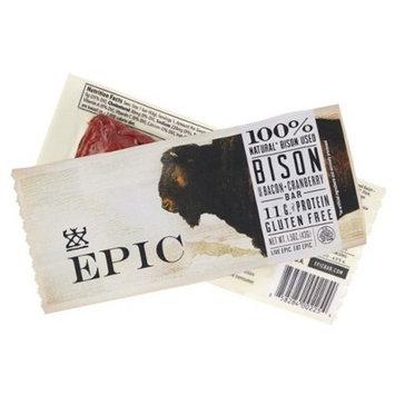 Epic Bison & Bacon Cranberry Nutrition Bar - 1.5oz
