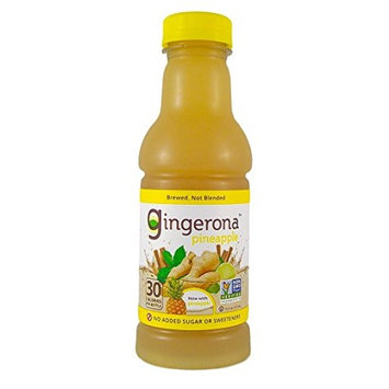 Gingerona Pineapple Ginger Drink 16 oz – Pack of 12