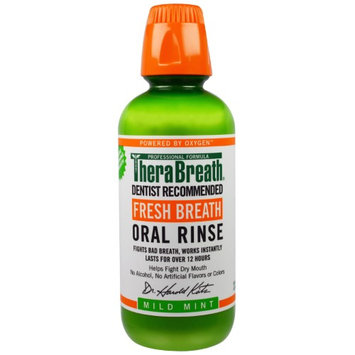 TheraBreath Oral Rinse Mild Mint 33.81 oz.(pack of 2)