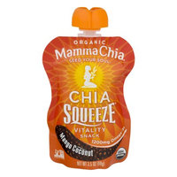 Mamma Chia - Organic Chia Squeeze Vitality Snack Mango Coconut 1200 mg. - 3.5 oz.