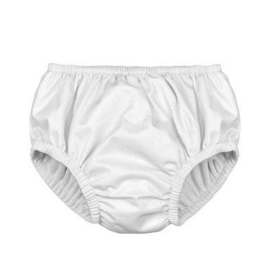 Toddler Reusable Swim Diaper - White - i play.