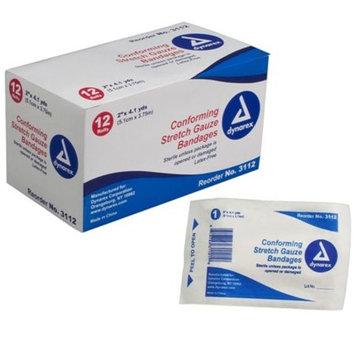 Conforming Sterile Stretch Gauze Bandages by Dynarex 2