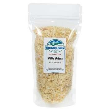 Harmony House Foods Dehydrated Chopped Onions (3 oz, ZIP Pouch)