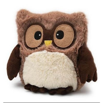 HOOTY BROWN OWL - WARMIES Heatable Lavender Scented Stuffed Animal