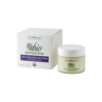 Organic Bio Damascena Anti-Aging Rose Face Cream