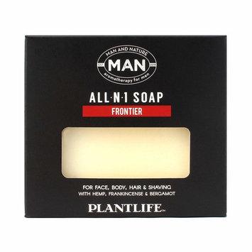 Plantlife Man And Nature All-N-1 Bar Soap - 4oz (113g)