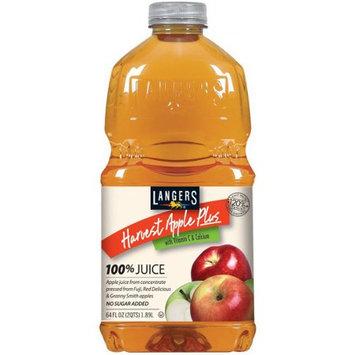 Langers Juice Langers 100% Juice Drink, Harvest Apple Plus, 64 Fl Oz