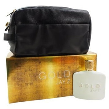 Jayz JZGM3-W Gold Jay Z Gift Set for Men