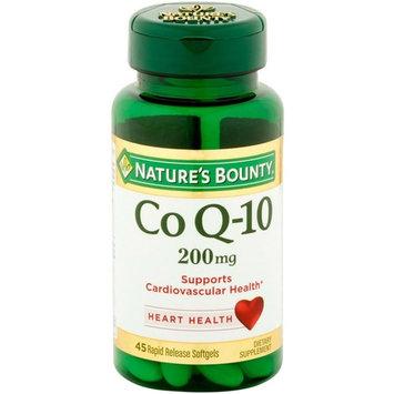 Nature's Bounty Co Q-10 200mg 45 Softgels