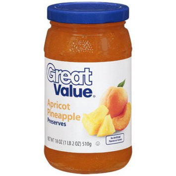 Great Value: Apricot Pineapple Preserves, 18 Oz