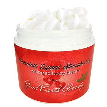 Body Cream Chocolate Covered Strawberries Natural By Good Earth Beauty