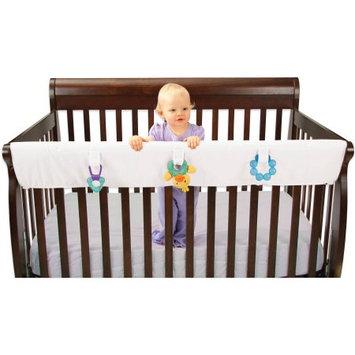 Leachco Easy Teether XL Crib Rail Cover for Convertible Cribs White