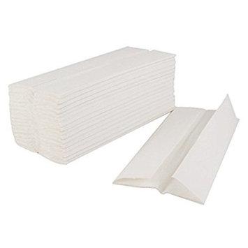 Kimberly-Clark CFOLDM, White Easy Elegance C-Fold Paper Napkins, Disposable Dispenser Hand Towels Napkins, 2400-Piece Case (Dispenser is Sold Separately)