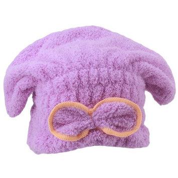 HENGSONG Womens Girls Bath Cap Quick Drying Bath Hair Towel Head Wrap Hat Bathing Tool