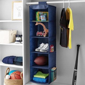 Imported Mainstays5 Shelf Organizer Blue