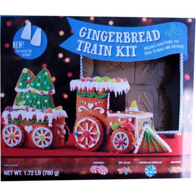 Create a Treat Gingerbread Train Kit, 1.72 lbs