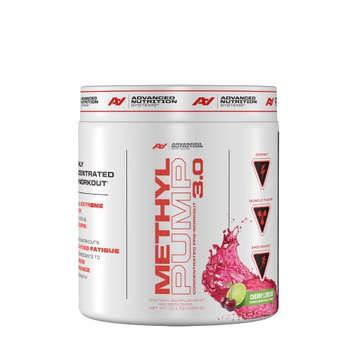Advanced Nutrition Systems Methyl Pump Concentrated Pre-Workout 3.0 - Cherry