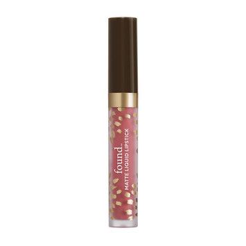 FOUND Matte Liquid Lipstick with Evening Primrose Oil, 220 Honeysuckle, 0.11 fl oz