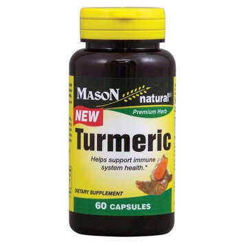 Mason Vitamins Turmeric Capsules, 60 Ct