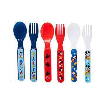 Disney Mickey Mouse Fork and Spoon Set, Mickey Mouse