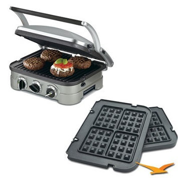 Cuisinart GR-4N 5-in-1 Griddler Bundle