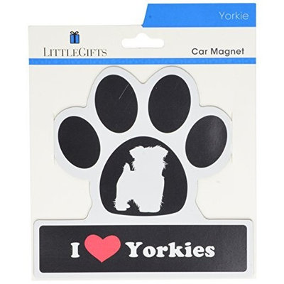 Smart Tag LittleGifts Car Magnet [Yorkie]