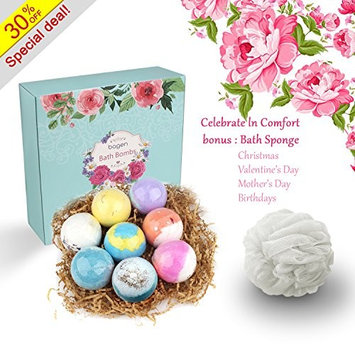 Bagen Bath Bombs Gift Set - A Best Selection of Giving Gifts For Women, Mom, Girls, Teens, Her -Dry Skin Moisturize, Perfect for Bubble & Spa Bath.
