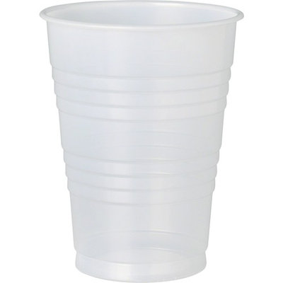 Solo Galaxy Plastic Cold Cups - 12 fl oz - 1000 / Carton - Translucent - Plastic, Polystyrene - Cold Drink