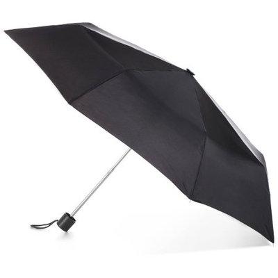 totes Super Mini Manual Umbrella - Black