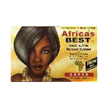 Africa's Best Regular No-Lye Dual Conditioning Relaxer System Super (3-Pack)