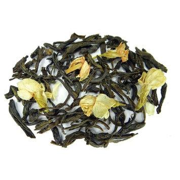 Jasmine With Flowers Green Tea - Premium Loose Leaf Tea - Fusion Teas - 6oz Pouch [Jasmine With Flowers]