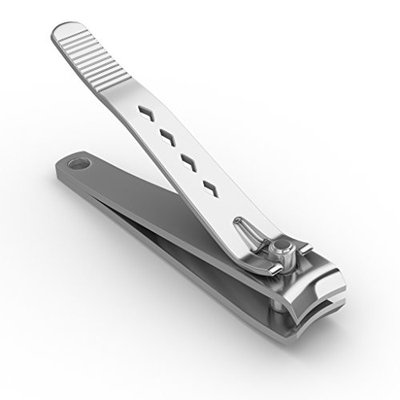 Best Nail Clipper - Large And Sharp For Cutting Both Fingernails And Toenails, Long Lasting Durable Non Rust Stainless Steel With Precision Grip. Ideal Clippers For Men, Women, And Seniors