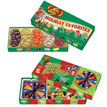 (Set) Jellybelly Holiday Gourmet Flavors - Xmas Bean Boozled Naughty Or Nice : Grocery & Gourmet Food