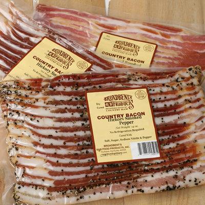 Broadbent's Kentucky Bacon - Applewood Smoked