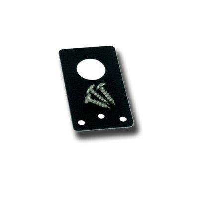 Laird Technologies - 3/4 Straight Bracket Stainless Steel (Black)