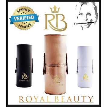 Royal Beauty Travel Case for Cosmetics, Toiletries, Sunglasses, and Travel-Sized Essentials (Rose G