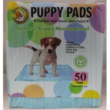 Best Pet Supplies VLP-501 Blue Value Pack Puppy Training Pads - 23 in. X 22 in. - 50 pcs-pk