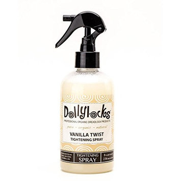 Dollylocks 8oz Vanilla Twist Dreadlock Tightening Spray