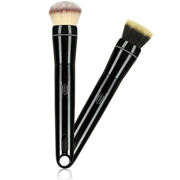 Electric Makeup Brush Rechargeable with Blush and Foundation Smart Rotating Brush Head, Black