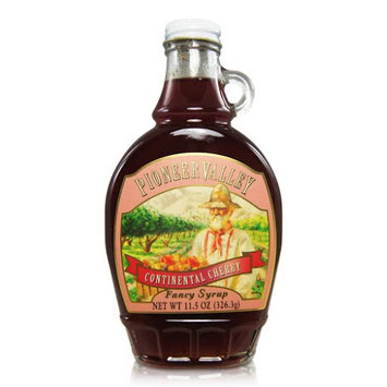 Pioneer Valley Gourmet Continental Cherry Fancy Syrup (11.5oz.)