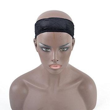 Dingli Hair Beauty Flexible Velvet Wig Grip Extra Hold Wig Adjustable Fastern in Black
