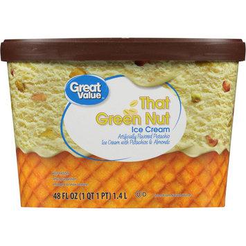 Great Value That Green Nut Pistachio Ice Cream, 48 oz