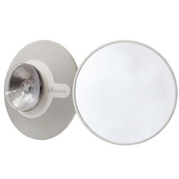 Bosign Suction Mounted 5X Magnifying Mirror