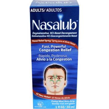 Nasalub Adult Nasal Relief Spray, 1 fl oz