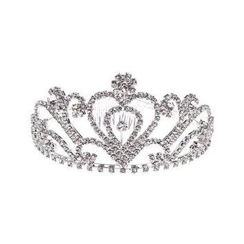 Wedding Rhinestones Pageant Princess Tiara Bridal Headband Pageant Princess Crown