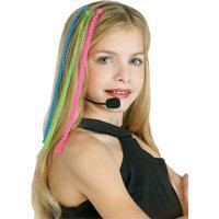 Morris Costumes Headset Hairpiece Pop Diva, Style RU2295