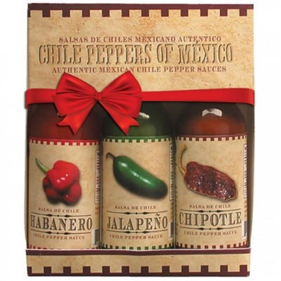 FigueroaBrothers FG-1285 5 oz Spice Exchange Chili Peppers of Mexico 3 Per Pack - Pack of 8
